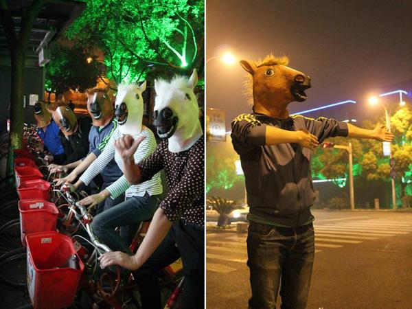 Horses Hangzhou Hat Party
