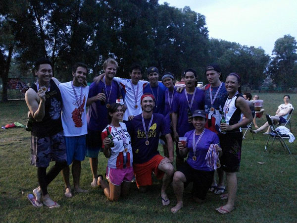 Mekong Cup Ultimate Frisbee Tournament 2014